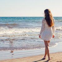 Пляж фото девушка