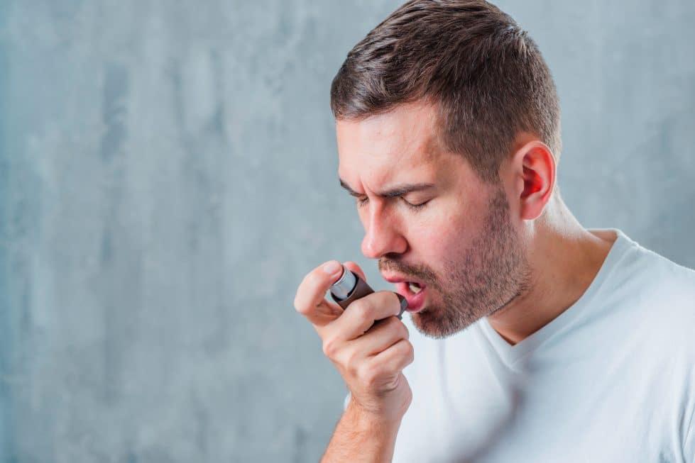 астма фото
