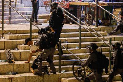 В Иерусалиме возобновились столкновения и беспорядки
