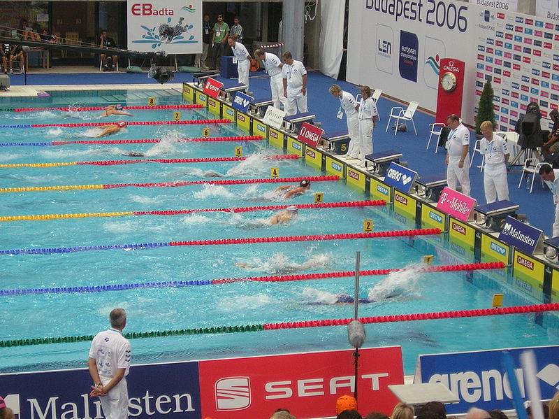 Чемпионат Европы по плаванию фото