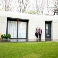 Дом, напечатанный на 3D-принтере фото
