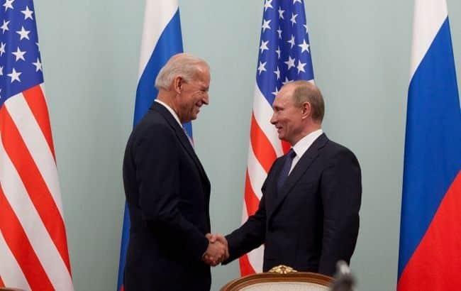 Начинается встреча Байдена и Путина — прямая трансляция