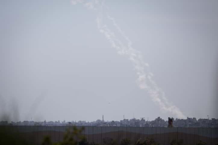 Ракетные обстрелы из Газы фото