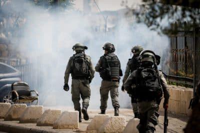 На северной границе ливанцы и палестинцы протестуют пятый день подряд
