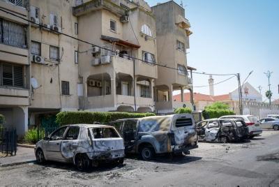 Беспорядки в Лоде фото