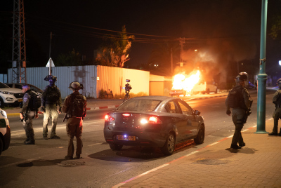 полиция Израиля фото беспорядки