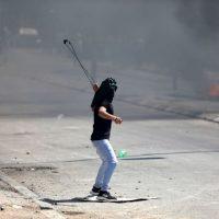 протесты Израиль палестинцы фото