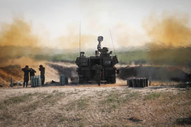 Артиллерия ЦАХАЛа фото