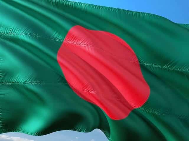 Флаг Бангладеш фото