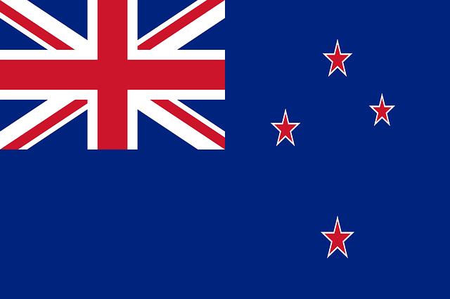 Флаг Новой Зеландии картинка