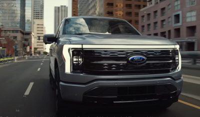 Ford начал производство электрического пикапа