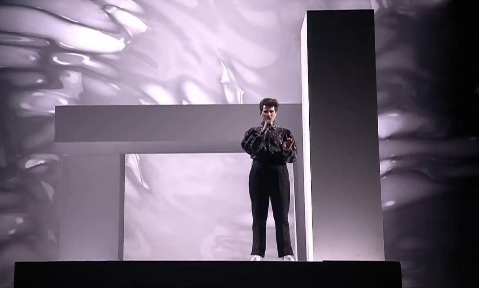Gjon's Tears фото концерт Евровидение
