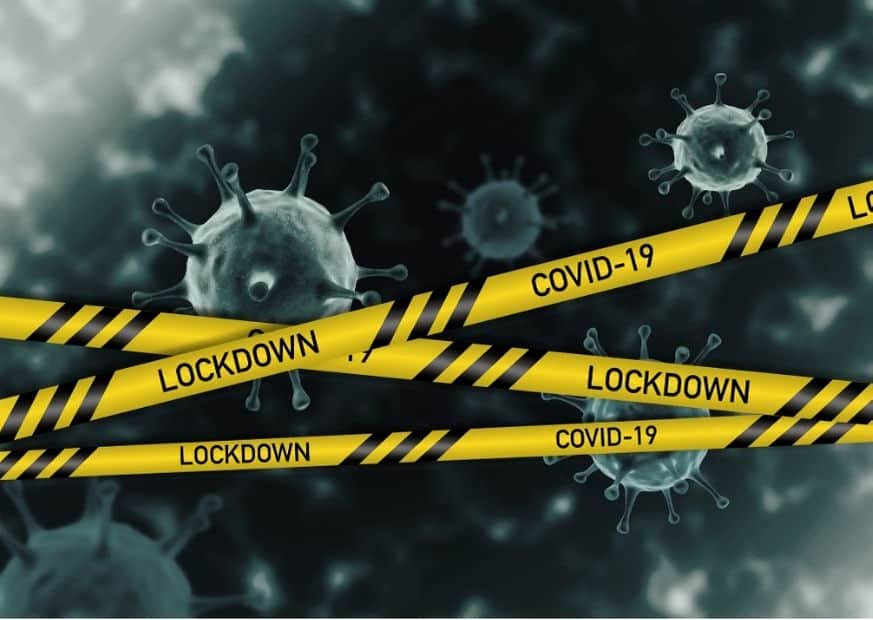 Локдаун коронавирус изображение