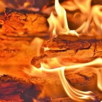 Пожар огонь фото