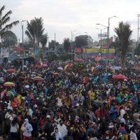 Протесты в Колумбии фото