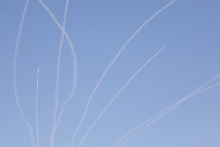 Ракетные обстрелы из Газы фотоNoam Revkin Fenton/Flash90