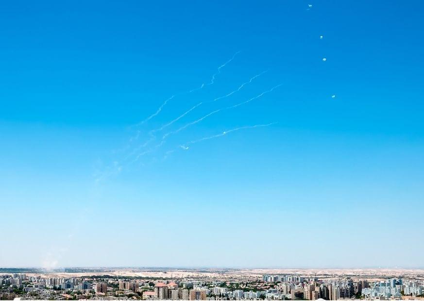 Ракеты из Газы обстрел фото