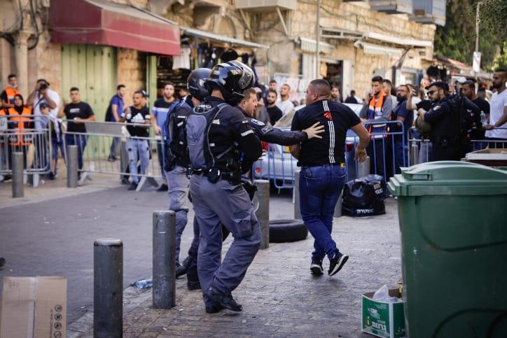 Беспорядки в Иерусалиме фото