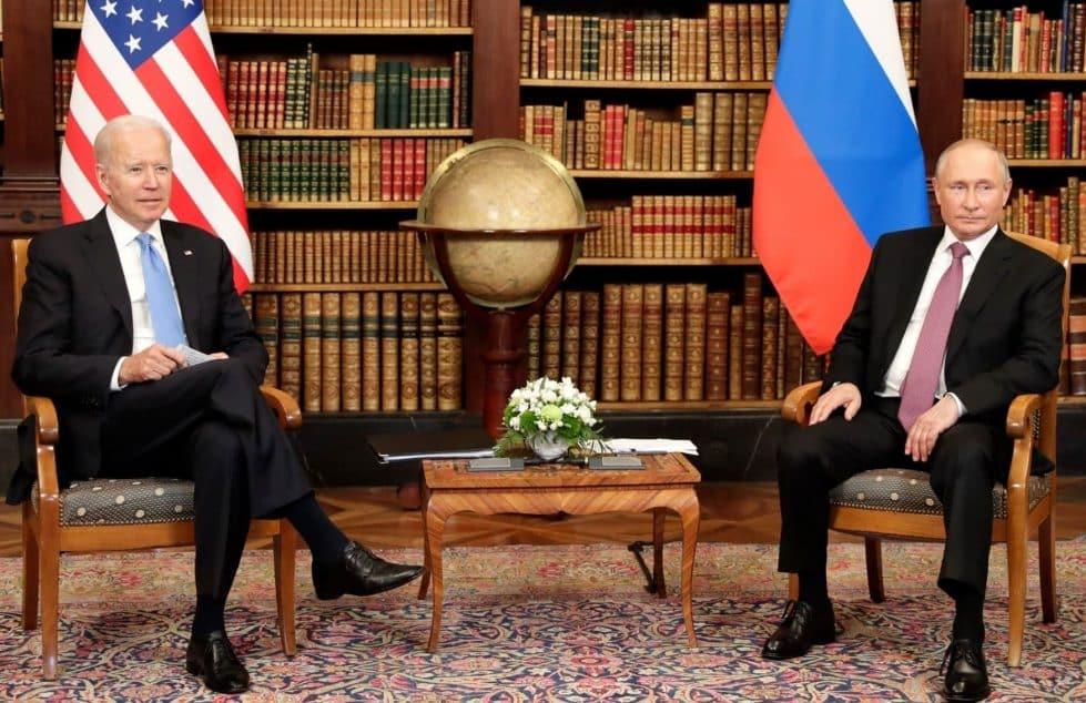 Байден Путин фото