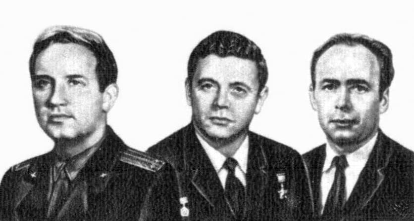 Экипаж корабля Союз-11 фото