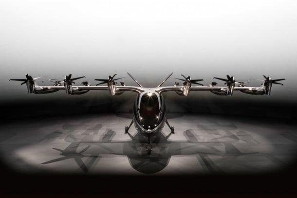 Летающее аэротакси Maker фото