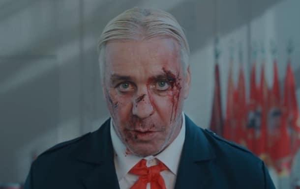 Лидер группы Rammstein фото
