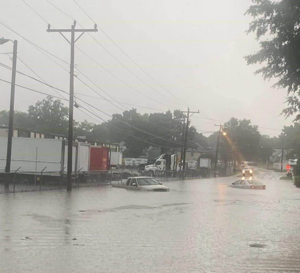 Наводнение в Вирджинии фото