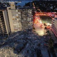 Обрушение многоквартирного дома в пригороде Майями фото