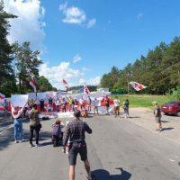 Протесты против Лукашенко фото