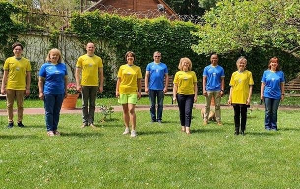 Сотрудники посольства Великобритании в Украине фото