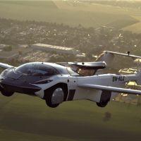 Летающий автомобиль фото