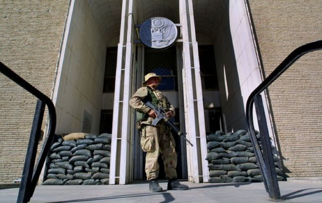 посольство США в Афганистане фото