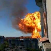 Взрыв в Новосибирске фото