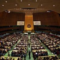Заседание Генассамблеи ООН фото