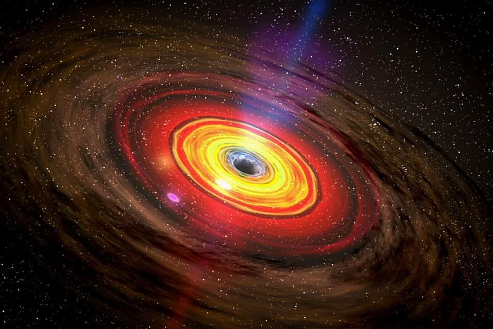 Черная дыра изображение