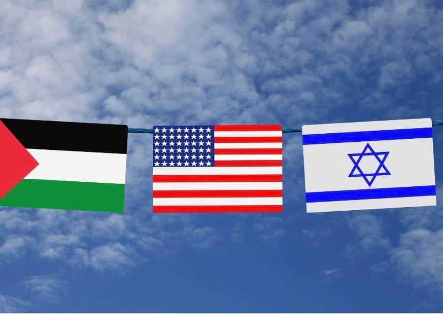 США, Израиль и ПА изображение