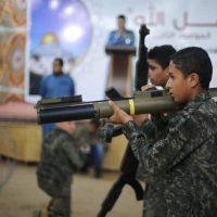 Детский тренировочный лагерь ХАМАСа фото