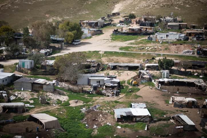 Бедуинская деревня фото