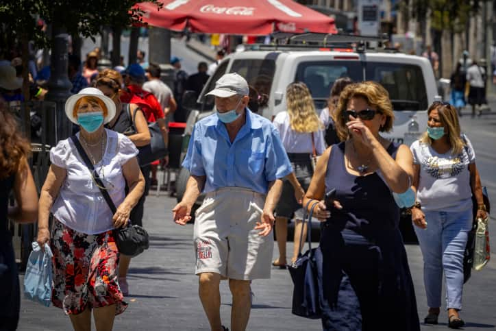 Израиль коронавирус фото