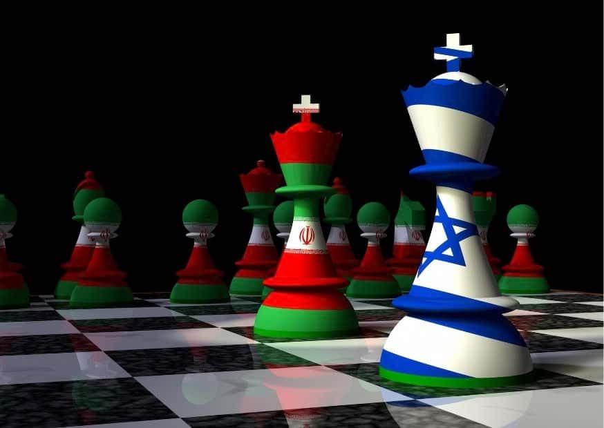 Израиль и Иран изображение