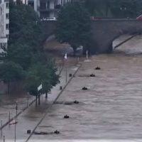 Наводнение в Германии фото