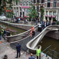 Мост в Амстердаме фото
