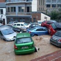 Наводнение в Бельгии фото