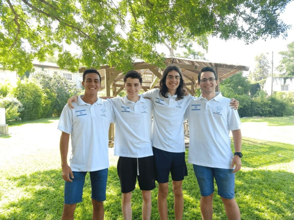 Олимпийская сборная Израиля по компьютерным наукам фото