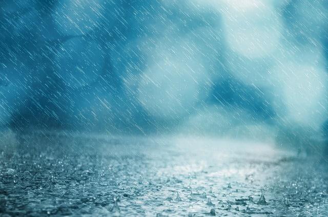 Ливень дождь фото