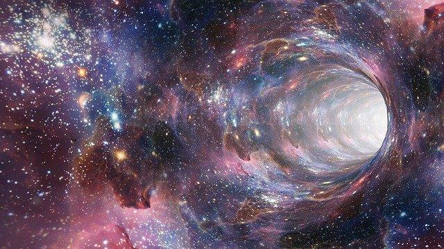 Портал кротовая нора космос картинка