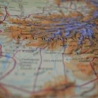 Афганистан карта фото