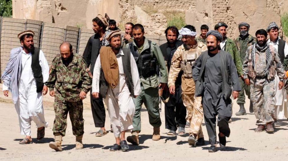 Боевики группировки Талибан фото