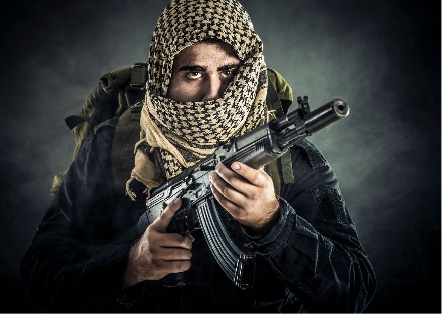 Террорист фото