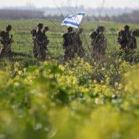 Пограничная полиция Израиля фото